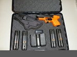 FIRESTORM JPX 2 LE Office Defense Bundle with Orange Frame with Laser with Holster
