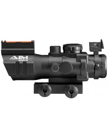 PRISMATIC SERIES 4X32MM RIFLESCOPE W/ RAPID RANGING RETICLE