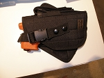 Molle Holster Medium Size for JPX 2 with Mag Pouch BLACK