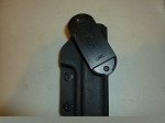 Piexon JPX Multi Belt Retention RH Kydex Holster in Black