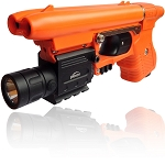 Piexon JPX Cobra Pepper Gun with Orange Frame with Laser (light not included)