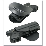 JPX 2 Paddle Holster LH in Black