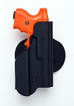 Paddle Kydex Holster with Flashlight pouch RIGHT HAND