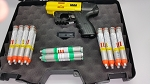 FIRESTORM JPX4 Shot COMPACT Pepper Gun Yellow Defense Bundle