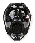 400/3 Gas Mask / Respirator Size SMALL With Deinking Tube and Filter
