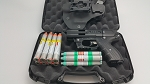 JPX4 Shot LE Defender Pepper Gun Black with laser Defense Bundle