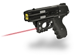 FIRESTORM JPX 4 Shot LE Defender Pepper Gun with laser Black Barrel