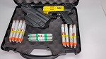 FIRESTORM JPX 4 Shot LEO Pepper Gun Black Defense Bundle With Laser