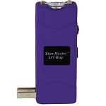 Stun Master L'il Guy 7.5 Millon Volt StunGun With Flashlight PURPLE