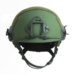 BALLISTIC LEVEL IIIA FAST HELMET OD GREEN  X-LARGE
