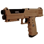 Tippmann TIPX PAVA BALL GUN TAN  with 20 10X Balls.