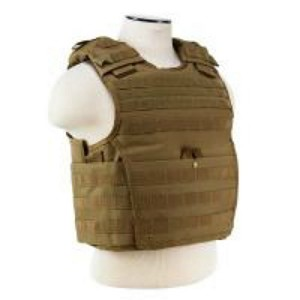 Expert Plate Carrier Vest - Tan