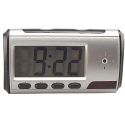 Spy Digital Alarm Clock DVR with motion detector  4 GB