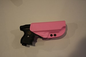 Zorn JPX Retention Righthand PInk Holster in Carbon Fiber
