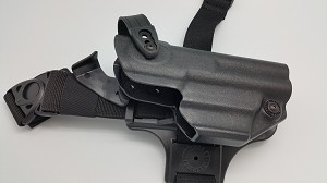 JPX 4 Defender Level II LE Holster in Kydex for Thigh Carry RIGHT LEG