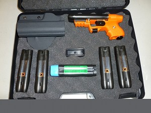 Piexon Jpx Jet Protector With Orange Frame With Laser