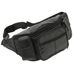 JPX Leather Holster Fanny Pak