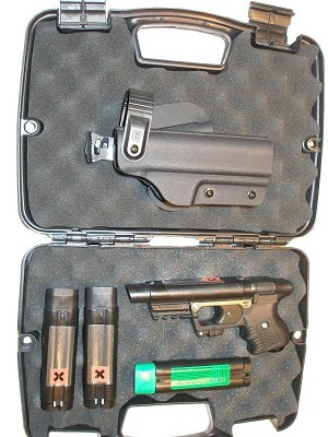 Deluxe Black Cobra JPX Personal Defense Bundle with Laser
