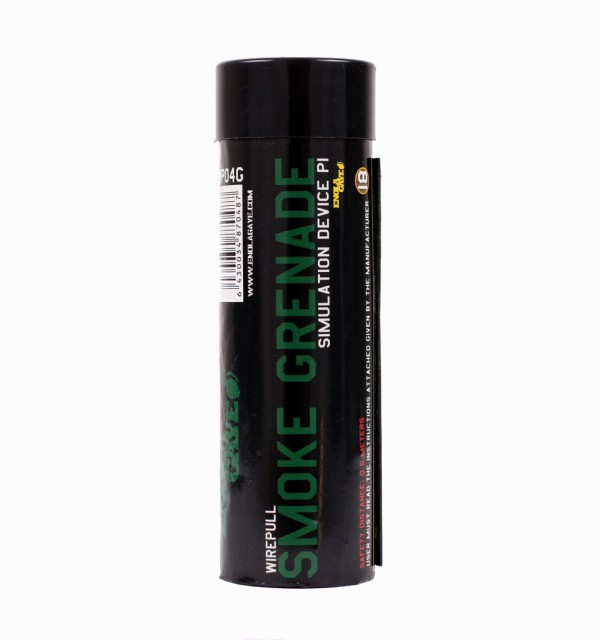 WIRE PULL SMOKE GRENADE GREEN SMOKE