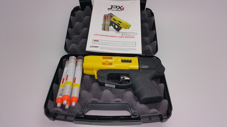 FIRESTORM JPX 4 Shot Compact Defender Pepper Gun Yellow