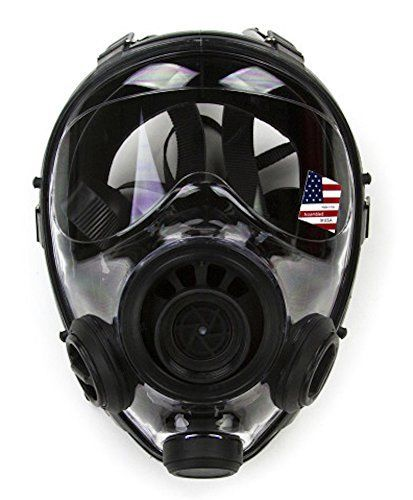 400-3 Gas Mask  Respirator Size M/L with 2024 Filter