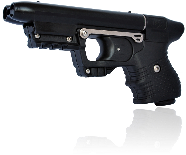 FIRESTORM JPX 2 LE with Black Frame and Laser with nylon holster