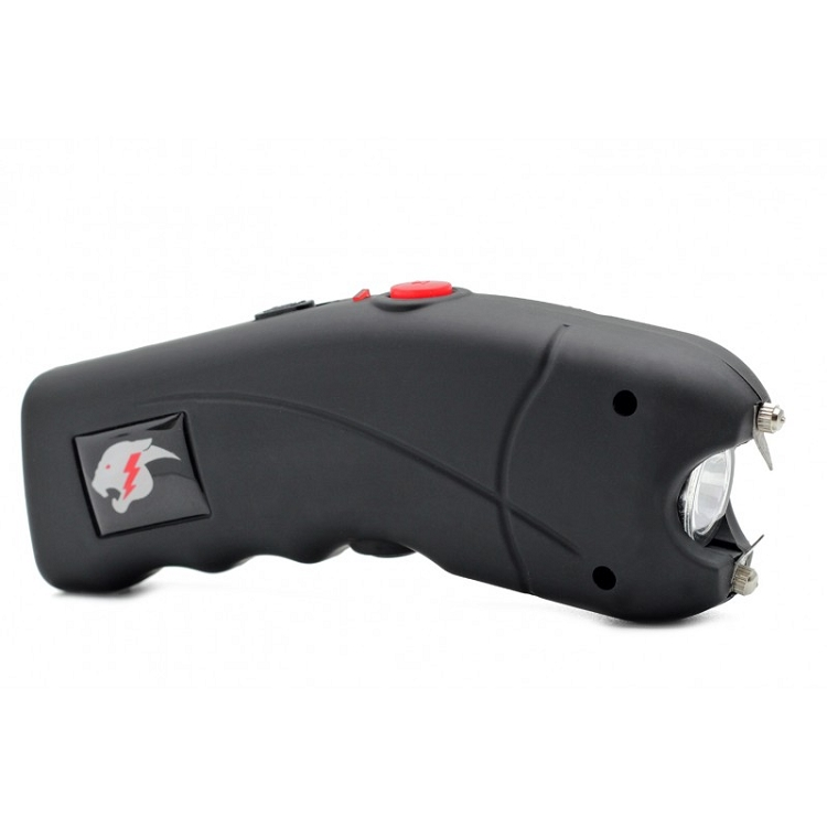 Cheetah 2.5 Mil Cyclone Stun Gun  Black with Alarm