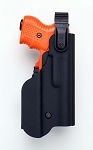 JPX 2 Kydex Level 2 Holster with Flashlight pouch RIGHT HAND with 330 lumen Tactical Light
