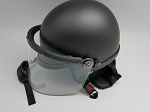 Police Riot Helmet with Face Shield and Carrying Bag