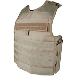 5ive Star Gear LW1 Plate Carrier Vest, Coyote, Small/Large