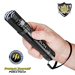 Streetwise Police Force 8,500,000 Tactical Stun Flashlight Black