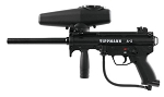 Tippmann A-5 with Response Trigger  and air tank with 20 PAVA BALLS