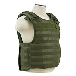 NcStar Quick Release Plate Carrier Vest OD with Level IIIA Soft Plates