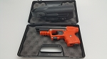 FIRESTORM JPX 2 LE with Orange Frame with Laser and Level II Belt Holster