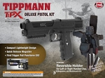 Tippmann TIPX PEPPER GUN BLACK Deluxe Kit with 20 PAVA Balls
