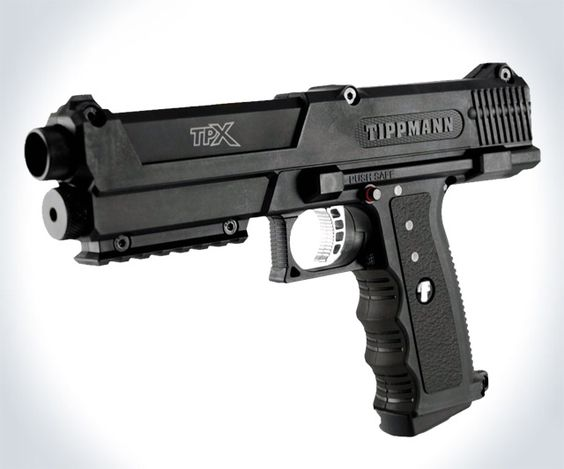BLACK Tippman Pepper Gun Includes 20 PAVA OC Balls