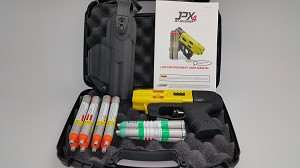 JPX4 Shot Compact Pepper Yellow Gun LE Bundle with Level II Holster