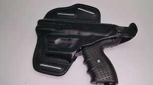 JPX 4 LEATHER PAN HOLSTER