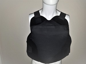 FIRESTORM Level IIIA Ballistic Concealed Vest XL with Plate Pocket