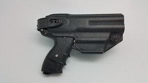FIRESTORM JPX 4 Defender Level II LE Holster in Kydex with adjustable belt loop