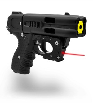 FIRESTORM JPX4 Shot LE Defender Pepper Gun with laser and Plastic holster