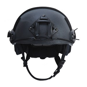BALLISTIC LEVEL IIIA FAST HELMET BLACK  LARGE