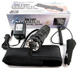 1 Million Volt Zap Flashlight Stun Gun